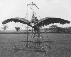 Frost's 1902 ornithopter